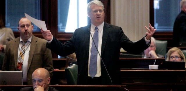 Illinois House Minority Leader Jim Durkin, R-Western Springs is in Cleveland with his eye on Trump's supporters and what they could mean for the future of the Republican Party in Illinois.