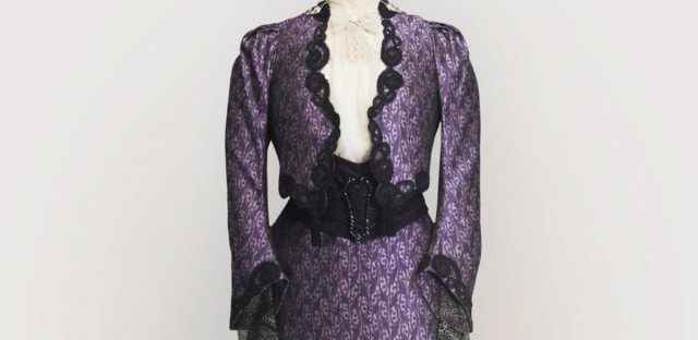 Dowager Purple Dress