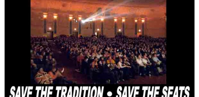 """A rally to save the Portage Theater """"as we know it"""""""