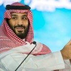 "Saudi Crown Prince Mohammed bin Salman speaks at the opening ceremony of Future Investment Initiative Conference in Riyadh, Saudi Arabia. Saudi Arabia's crown prince has promised to return the ultraconservative kingdom to a more ""moderate"" Islam."