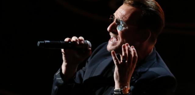 Bono, he just thinks he's God.
