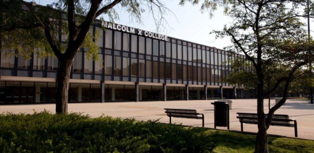 Malcom X College is one of the seven city colleges of Chicago.