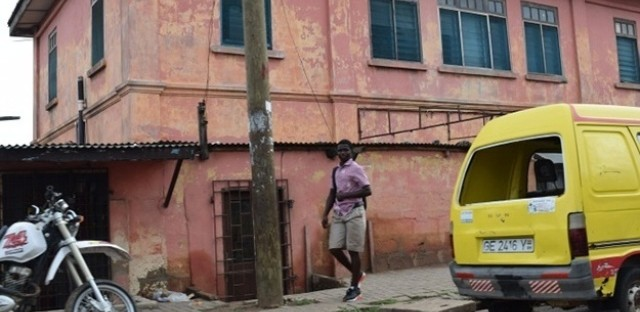 The fake U.S. embassy in Accra, Ghana.