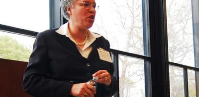 President Preckwinkle talks about the difficult decisions behind 2012 county budget proposals