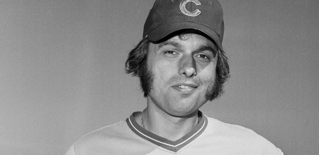 Chicago Cubs pitcher Milt Pappas on March 3, 1973 at Spring training.