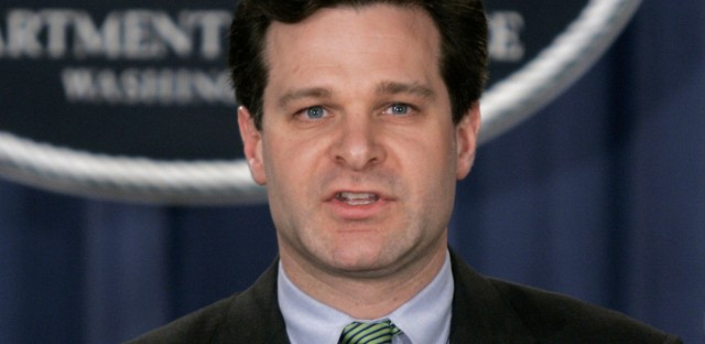 President Trump says he is nominating Christopher Wray, seen here in 2005, as the next FBI director. Wray served for several years as an assistant attorney general before working in private practice.