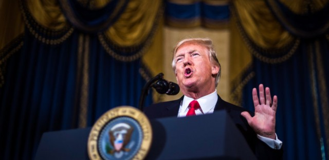 President Trump spoke from the White House in July in an effort to promote health overhaul legislation. He's now trying to make changes through an executive order.
