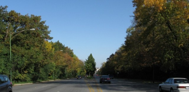 2012--location 'B'--Western Avenue at 87th Street, view north