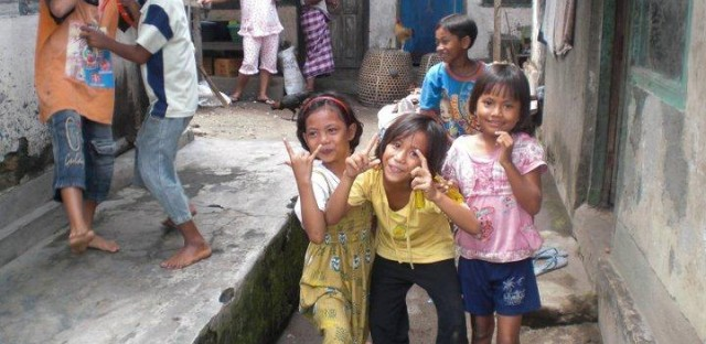 Vallera started her organization, Music for Lombok, to provide music, art and English language education to children at the orphanage.