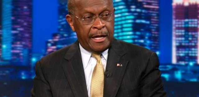 Herman Cain on 'The Daily Show'