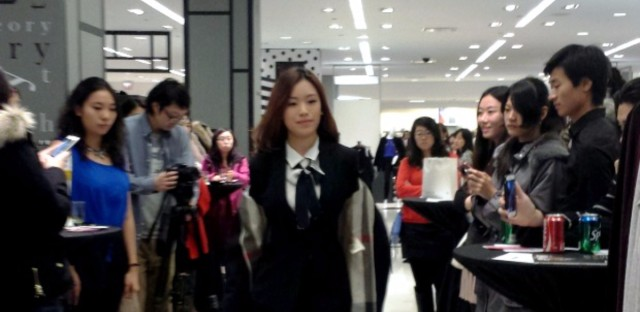 Luxury brands court Chinese students
