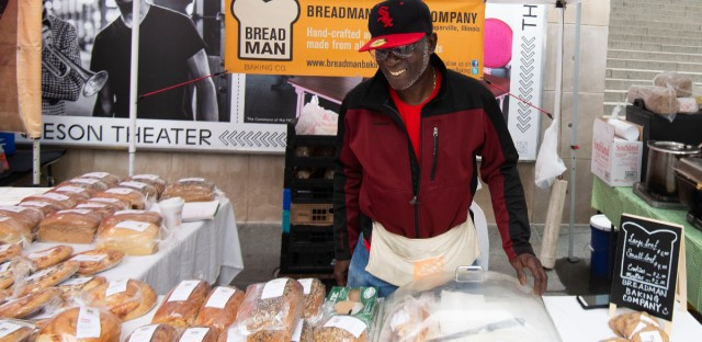 Breadman Baking Company is one of the vendors at the SOAR Farmers Market.