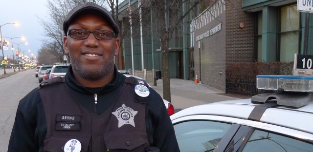 "Jamil Brown, an officer at the Ogden police station, said the purpose is to help ""heal the wounds of deceit between the public and police department."""