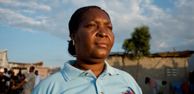 Haitian woman faces death threats for speaking out about violence against women