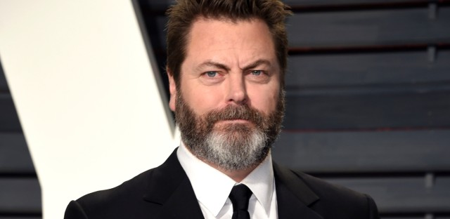 Nick Offerman before an Oscar party on Feb. 26, 2017, in Beverly Hills, Calif. (Photo by Evan Agostini/Invision/AP)