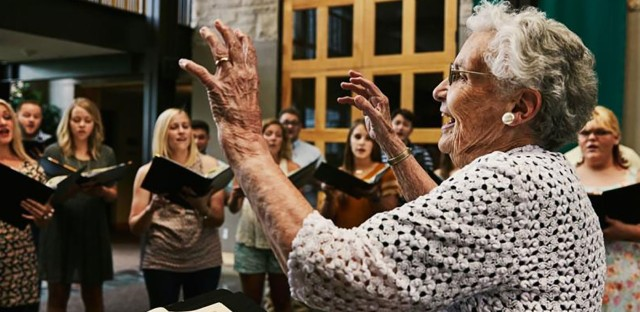 On Being : Alice Parker — Singing Is the Most Companionable of Arts Image