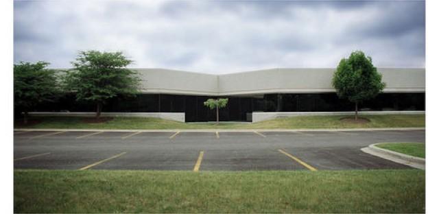 An office park in Barrington, IL