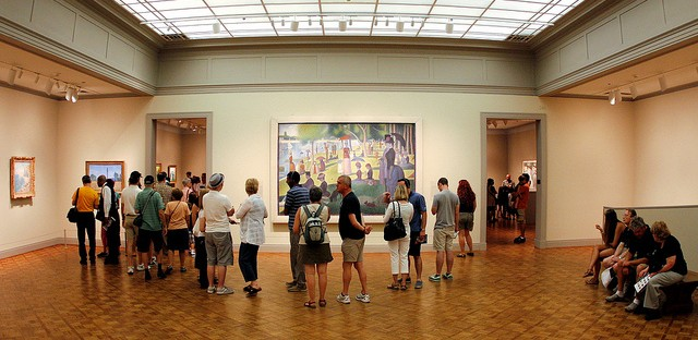 'Sunday in the Park with George' comes alive at the Art Institute of Chicago Sunday.