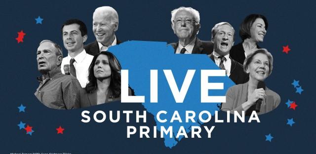 Follow NPR's live coverage of the South Carolina primary.