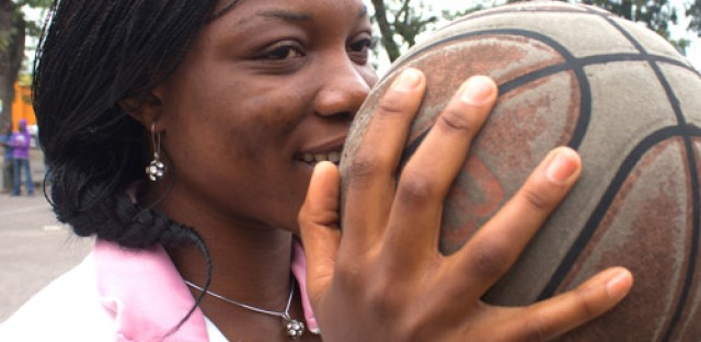 Congolese basketball players in the U.S.