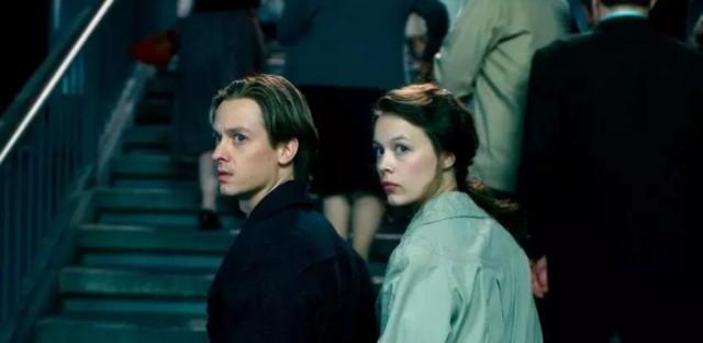 """Tom Schilling and Paula Beer in Florian Henckel von Donnersmarck's """"Never Look Away."""""""