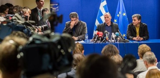 Greek government rejects EU debt deal