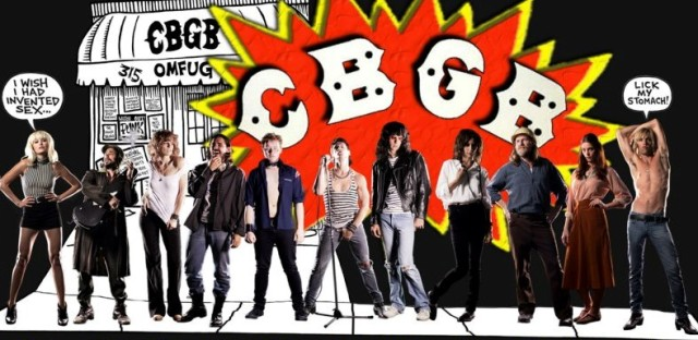 Unlike punk itself, 'CBGB' is a missed opportunity