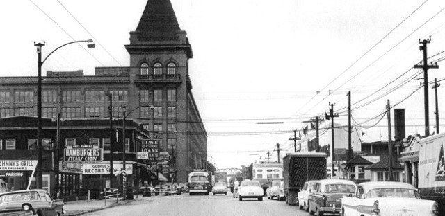 Cicero Avenue and Hawthorne Works, 1957