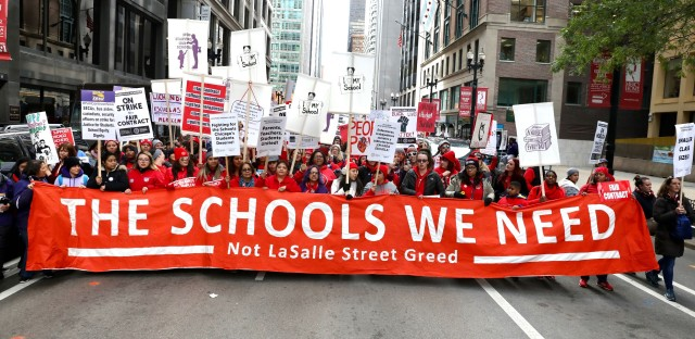 Chicago Public Schools Teachers Strike Over Unmet Demands