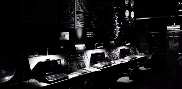 A former U.K. government-owned nuclear bunker in Cheshire, England.