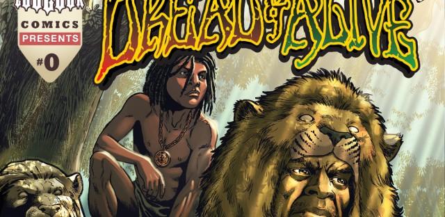 Cover of Issue 0 of Dread & Alive by Nicholas Da Silva