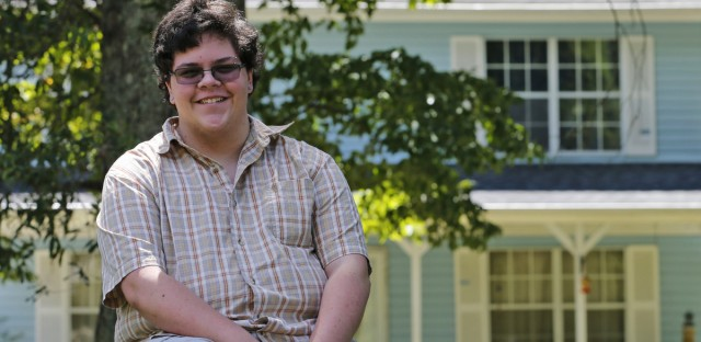 Transgender high school student Gavin Grimm's case in Virginia was about bathroom access. The Department of Education just announced it won't investigate similar claims. Steve Helber/AP