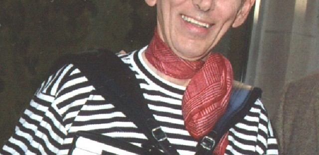 In his beret and boat-neck shirt, accordionist Jerry King is a familiar sight at events around Chicago.
