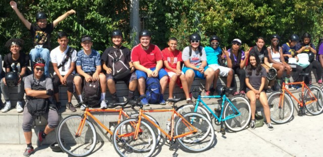 West Town Bikes Youth Program