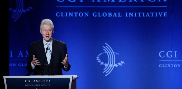 President Clinton at the CGI Meeting in Chicago in June