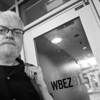 Liam Heneghan at WBEZ Studios