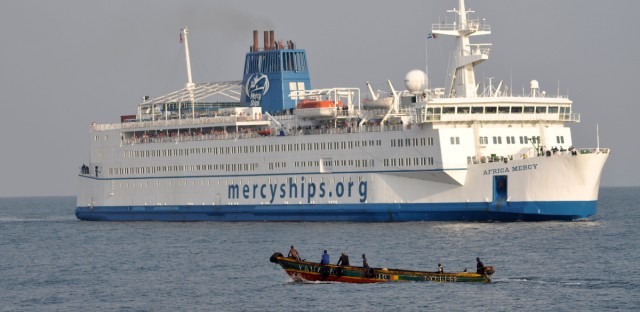 "The Africa Mercy, operated by Mercy Ships, is a state-of-the-art hospital ship that was acquired in 1999. It was the subject of the documentary ""The Surgery Ship."""
