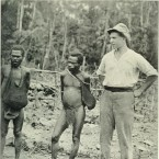 "Image from ""The land of the New Guinea pygmies; an account of the story of a pioneer journey of exploration into the heart of New Guinea"" (1913)"