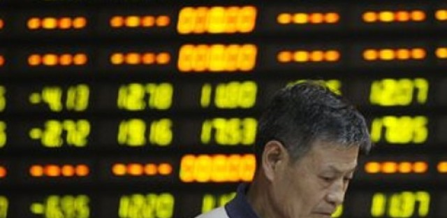 China financial markets in freefall