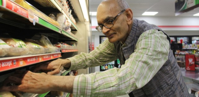 Hashim Syed, owner of a 7-Eleven franchise in Chicago, says the company's rules make it too hard for him to cut costs so he can pay his employees more.