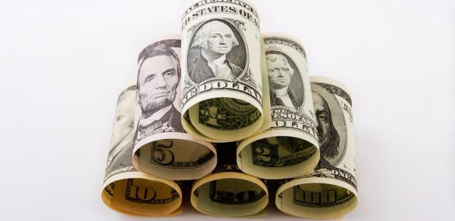 money stack pyramid