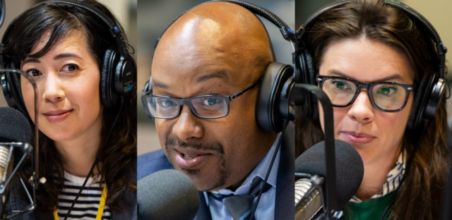 Journalists Kim Bellware, Tahman Bradley and A.D. Quig join this week's Friday News Roundup with Jenn White.
