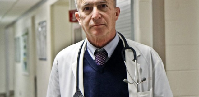 Kidney specialist Steven Peitzman, a professor at Drexel University College of Medicine, says physicians who are now in their 60s and 70s used to get praise if they had the 'ear' to hear and interpret subtle sounds through a stethoscope.