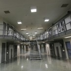 A cell block is shown at the Thomson Correctional Center in Thomson, Ill. on Dec. 22, 2009.