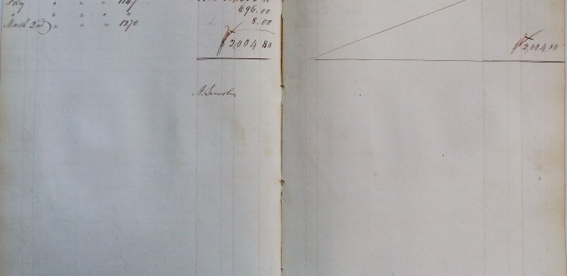 Museum unearths Lincoln's expense reports