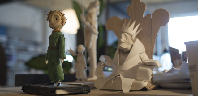 Osborne's film adaptation of The Little Prince has CGI, hand-drawn paper cut-outs and clay animation.