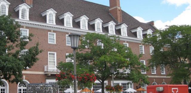 University of Illinios Student Union on the Urbana-Champaign campus. (WBEZ/Susie An)