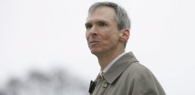 Rep. Dan Lipinski, D-Ill., campaigns for re-election in Illinois' 3rd Congressional District at a commuter train station back in 2008. Brian Kersey/AP