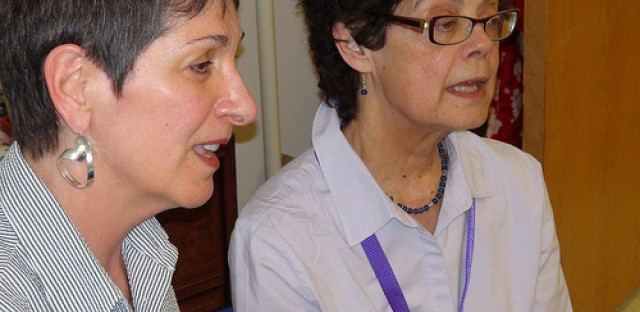 Joan Maxwell and Sigrid Brooks