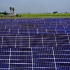 On some sunny, spring days, California has more electricity than it can use, like from this solar farm in Fresno.
